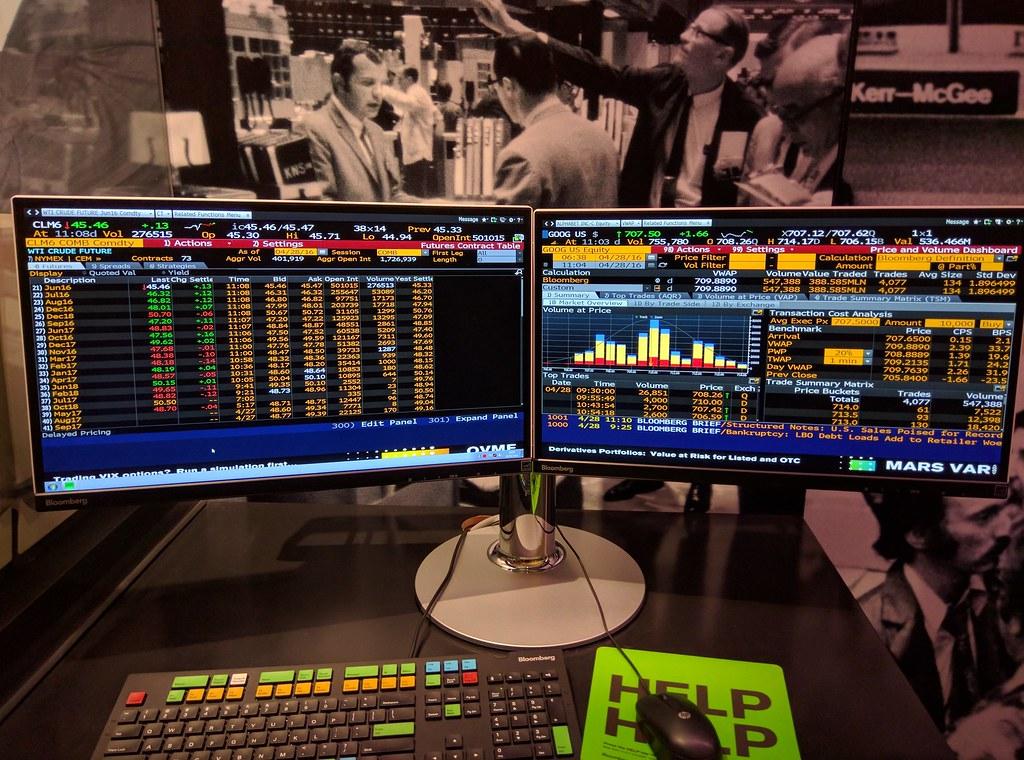 Bloomberg stock photo